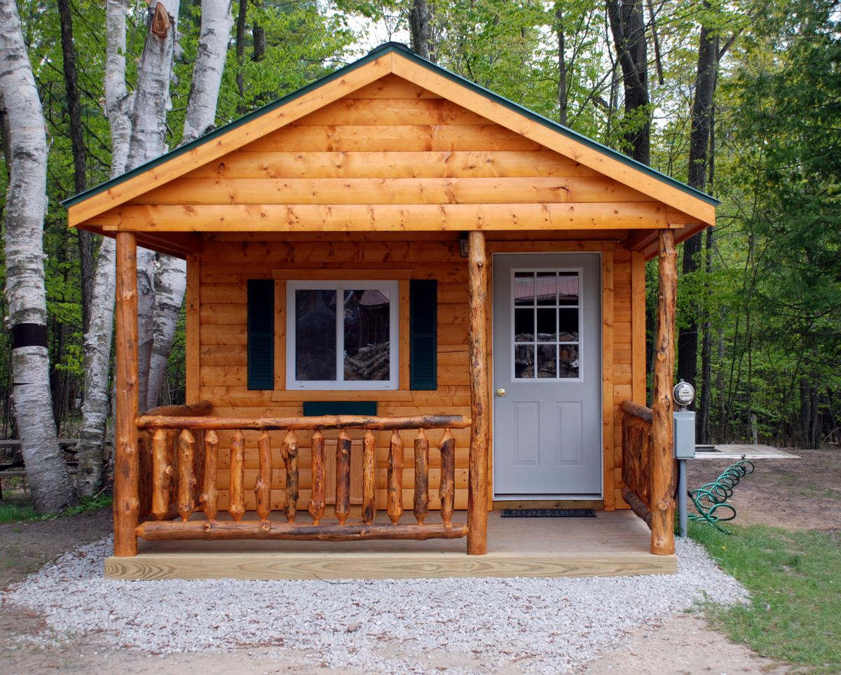Cabin Rentals At River View Campground U0026 Canoe Livery : Rifle River,  Sterling Michigan